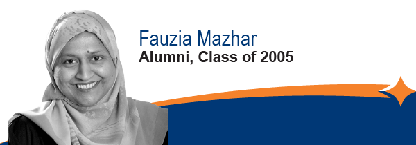 Fauzia Hazhar, Leadership Waterloo Region Alumni, Class of 2005
